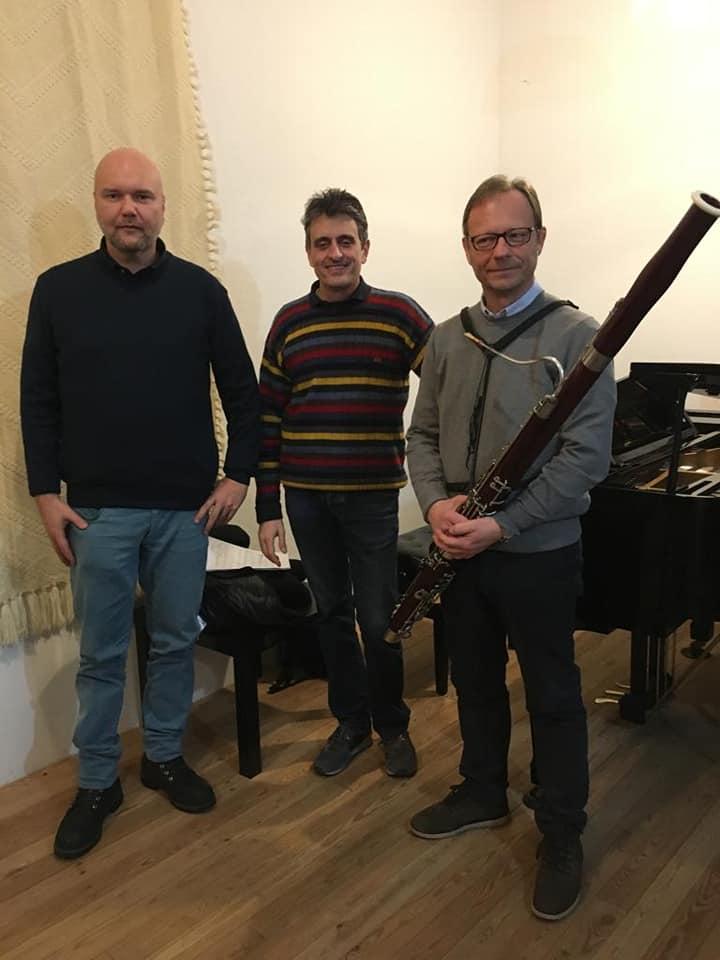 Paolo Carlini e Fabrizio Datteri incidono la musica di David Fontanesi