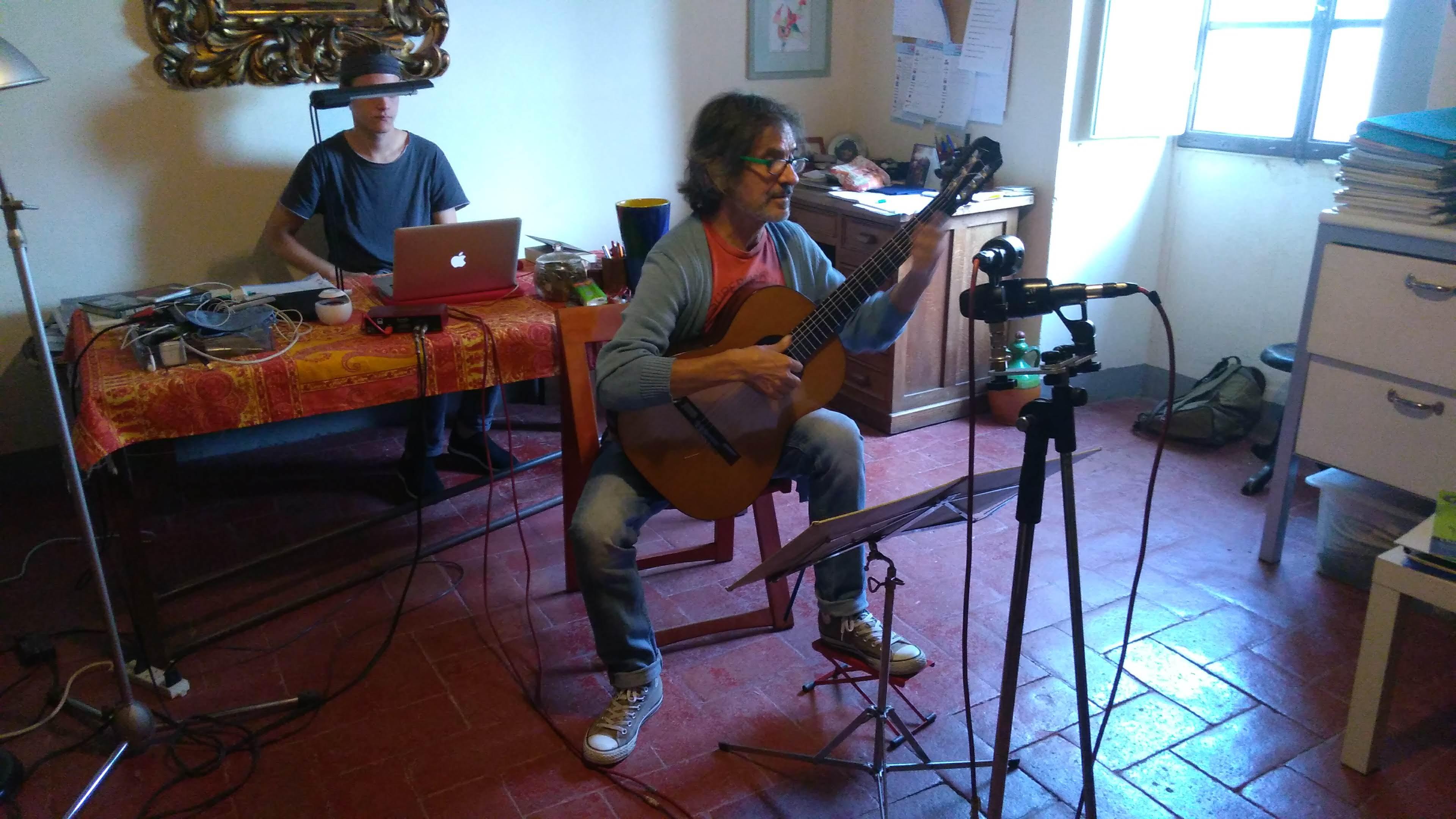 Home recording con Flavio Cucchi