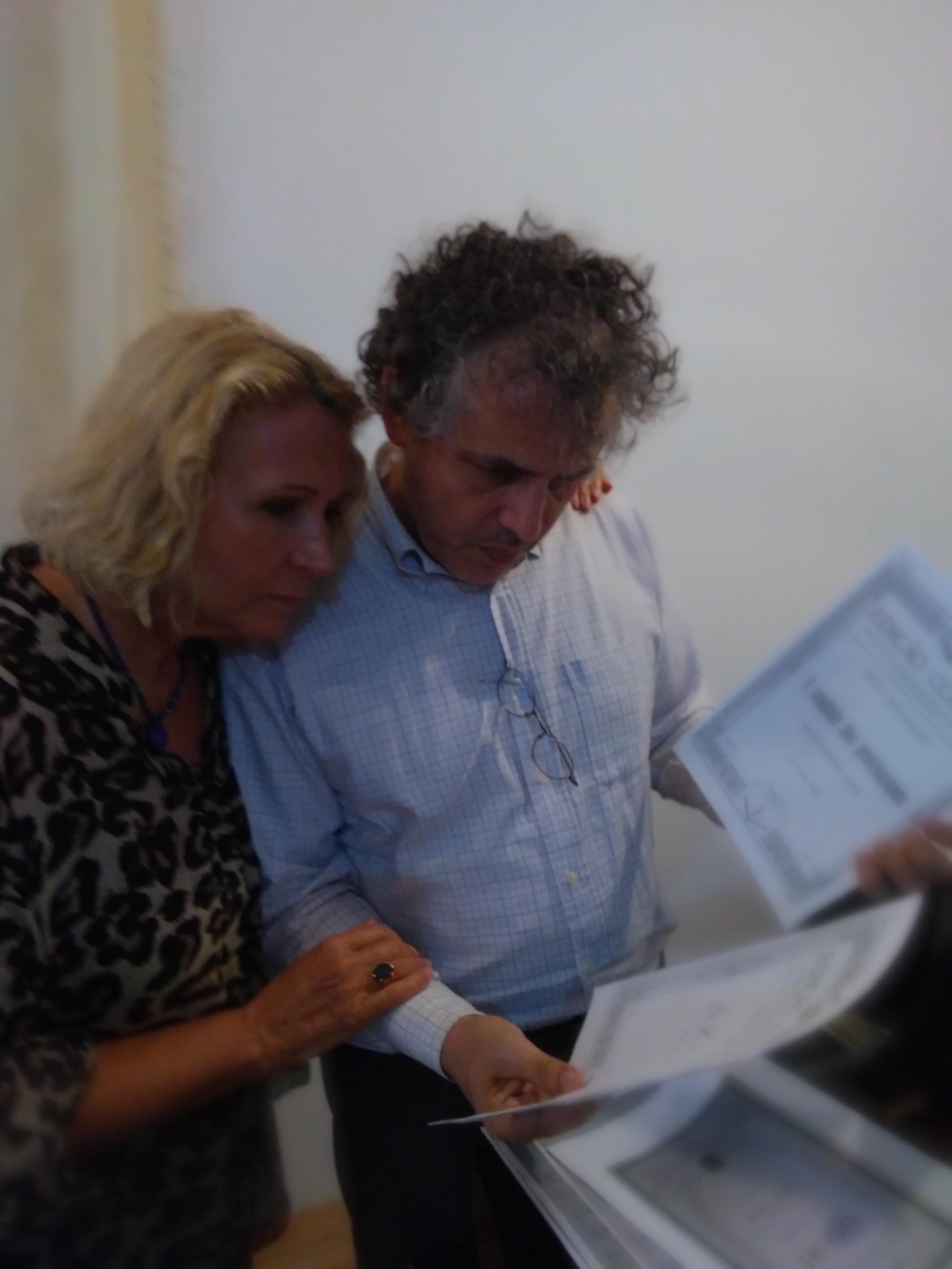 Registrazione di Gregorio Nardi e Claudia Hasslinger