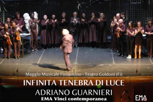 Infinita Tenebra di Luce di Adriano Guarnieri. Contempo ArtEnsemble, dirige Pietro Borgonovo. Regia di Giancarlo Cauteruccio