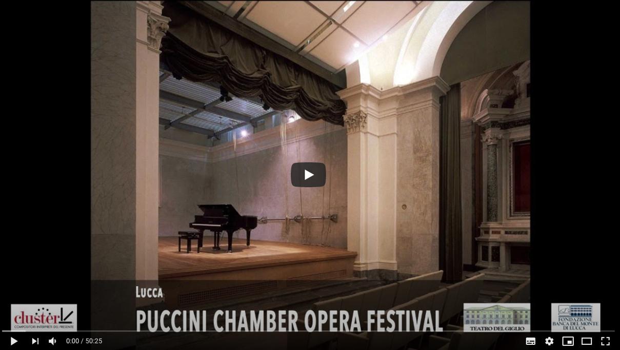 Puccini Chamber Opera Festival PAPPATACIO